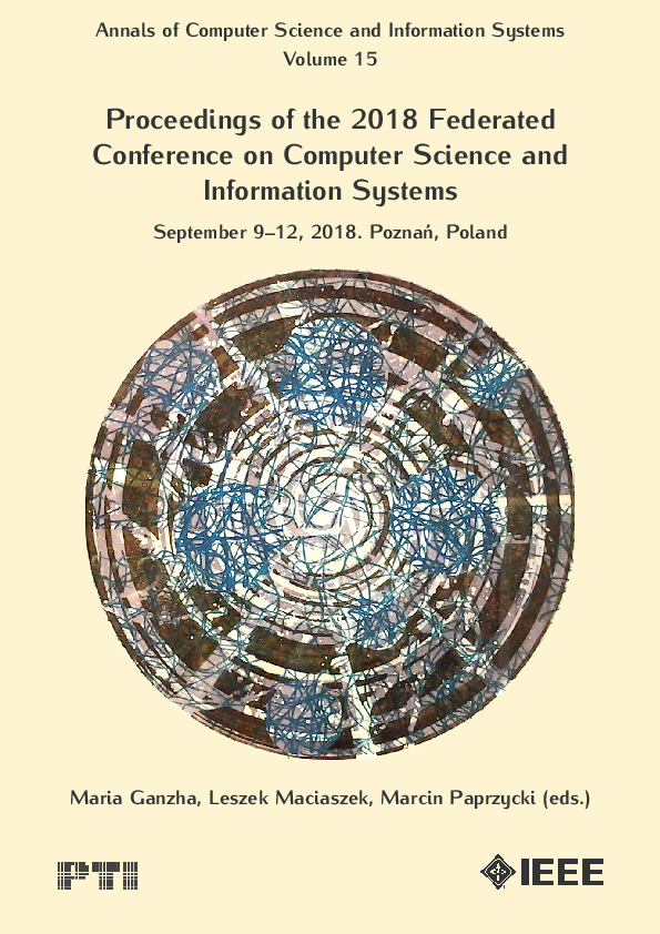 Annals of Computer Science and Information Systems, Volume 15